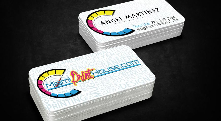 business cards miami print house - Business Cards Miami